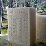 Castile Soap / Palm Coconut Soap with Cocoa Butter ~ Natural Handcrafted...