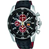 Men's SNAE75P1 FC Barcelona Limited Edition Sportura Quartz Alarm Chronograph (Color: blue)