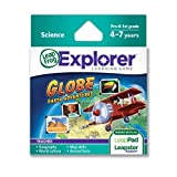 LeapFrog Explorer Learning Game: Globe: Earth Adventures (works with LeapPad & Leapster Explorer) Toy/Game/Play Child/Kid/Children