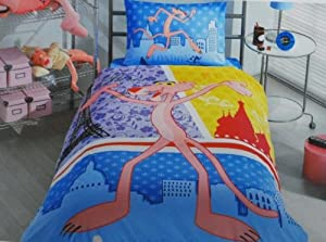 Disney Pink Panther Boutique Bedding Set for Kid Boy Girl Children