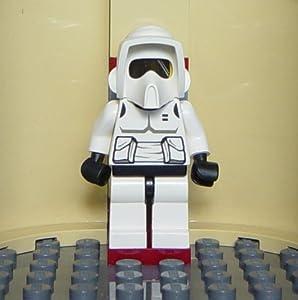 LEGO Star Wars: Biker Scout Trooper Minifigure with Blaster Rifle