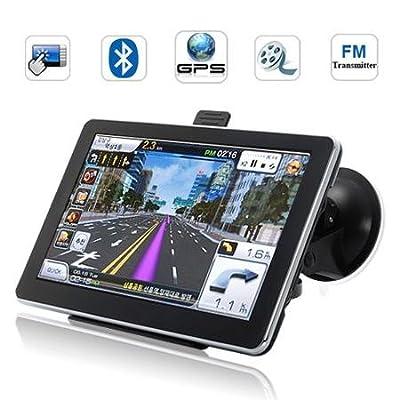 """7"""" Zoll LCD HD 2012 Navigation LKW Truck GPS Bluetooth AV MP3 Video PKW Win CE 6"""