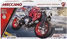 Comprar Meccano Elite Motorcycle Ducati - juegos de construcción (Vehicle, Negro, Metálico, Rojo, Metal, Caja)