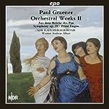 パウル・グレーナー:管弦楽作品集 第2集(P. Graner: Orchestral Works Vol.2:sym.op.39)