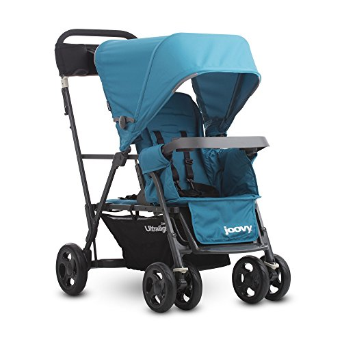 Best Review Of Joovy Caboose Ultralight Graphite Stroller, Turq