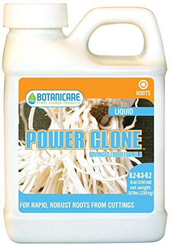 Botanicare Power Clone Advanced Liquid Formula, 8-Ounce (pack of 12) (Organic Cloning Gel compare prices)