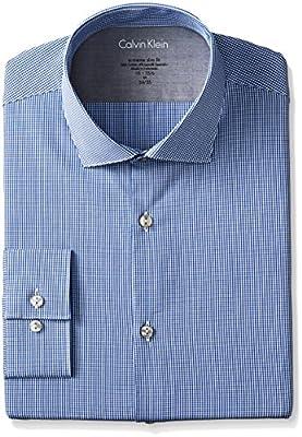 Calvin Klein Men's Xtreme Slim-Fit Gingham Shirt