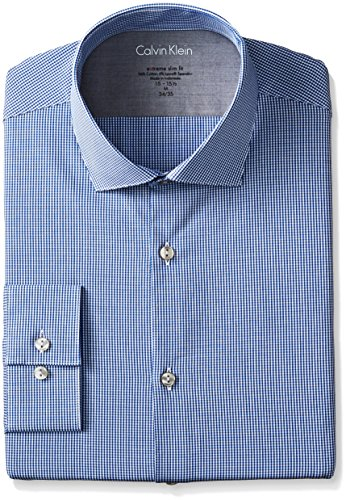 Calvin-Klein-Mens-Xtreme-Slim-Fit-Gingham-Shirt