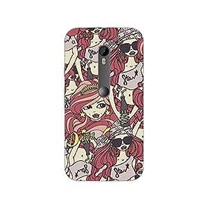 Garmor Designer Silicone Back Cover For Motorola Moto G (3rd gen)