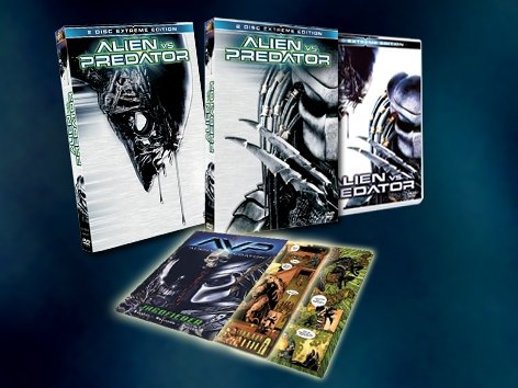 Alien vs. Predator (Limited Edition, 2 DVDs inkl.Comic) (exklusiv bei Amazon)