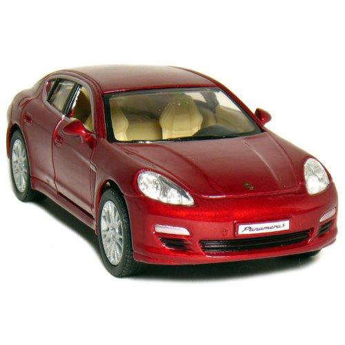 """5"""" Porsche Panamera S 1:40 Scale (Red)"""