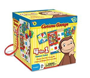 Curious George Travel Cube