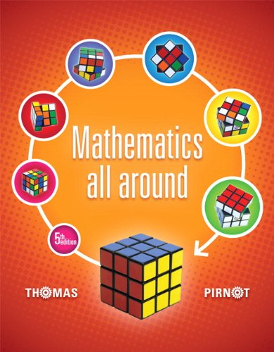 Mathematics All Around (5th Edition), by Tom Pirnot