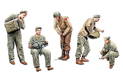 MiniArt Models 1/35 U.S. Army Drivers 5 Figure Set