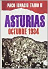 Asturias: octubre 1934 par Taibo II