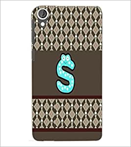 PrintDhaba GRANDbet S D-5830 Back Case Cover for HTC DESIRE 820 (Multi-Coloured)