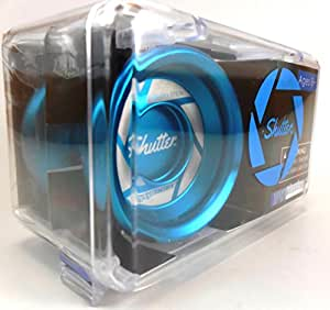 YoYoFactory Authentic Aqua Shutter Yoyo In Hard Plastic Case By Yo Yo Factory