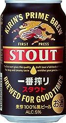 キリン 一番搾り スタウト 6缶パック 350ml×24本