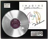 """JOHN LENNON IMAGINE PLATINUM LP LTD SIGNATURE RECORD DISPLAY """"C3"""""""