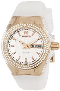 Technomarine Cruise Original Star Rose Gold PVD Steel & Diamond Womens Luxury Sport Watch 110041