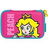 HORI Super Mario Bros. Hard Pouch (Princess Peach) for Nintendo 3DS XL