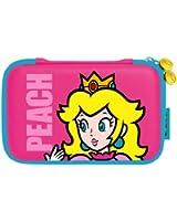 Sacoche de transport Peach Hard pour 3DS XL