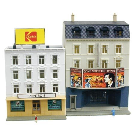 N B/U Movie Theater/Restaurant, Lighted w/Figures - Buy N B/U Movie Theater/Restaurant, Lighted w/Figures - Purchase N B/U Movie Theater/Restaurant, Lighted w/Figures (Model Power, Toys & Games,Categories,Play Vehicles,Trains & Railway Sets)