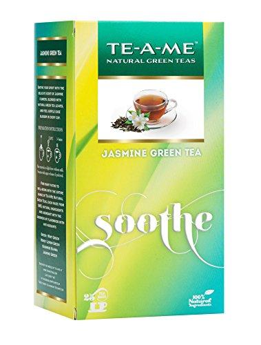 TE-A-ME Jasmine Green Tea Pack of 25 Tea Bags