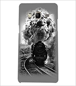 PrintDhaba Train D-2344 Back Case Cover for SAMSUNG Z3 (Multi-Coloured)