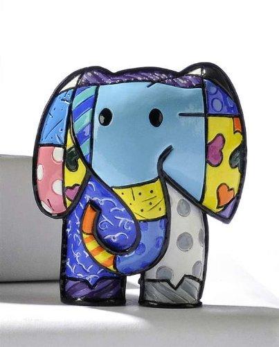 Romero Britto - Mini Elephant - Lucky Figurine