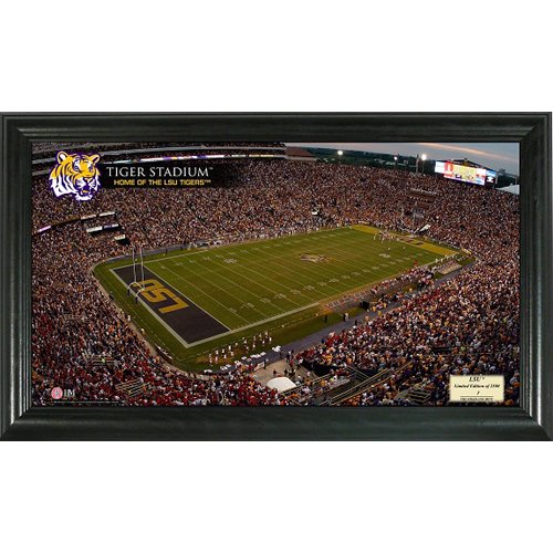Highland Mint Louisiana State University Stadium Gridiron Photo at Amazon.com