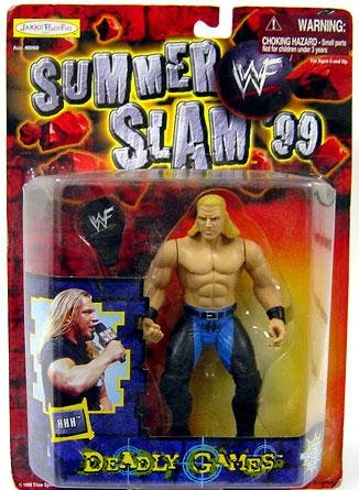 WWF Wrestling Action Figure Summer Slam '99 Deadly Games Triple H