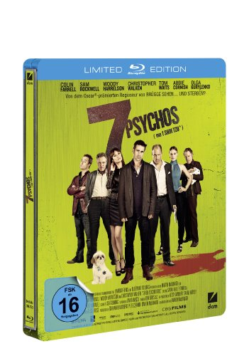 7 Psychos (Limitierte Steelbook Edition) [Blu-ray] [Limited Edition]