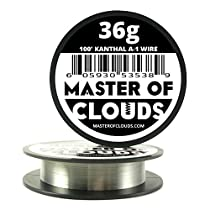100ft. Kanthal A1 Resistance Wire 36 AWG Gauge 100' Lengths