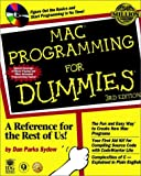 Mac Programming For Dummies (For Dummies Series) (0764505440) by Parks Sydow, Dan