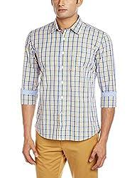 Vivaldi Men's Casual Shirt (8907007113318_VC0855_Small_OR/NY/SK)