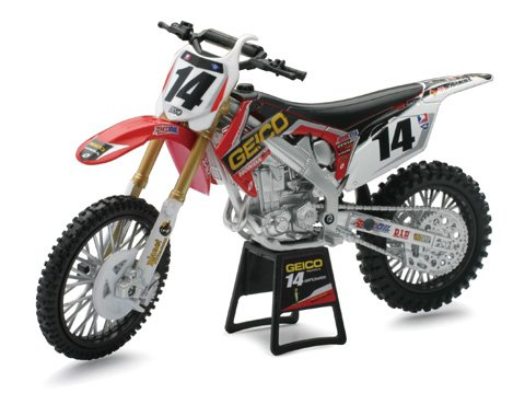 New Ray Toys Offroad 1:12 Scale Motorcycle – Geico Powersports Kevin Windham 2012 57567 image