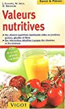 Valeurs nutritives