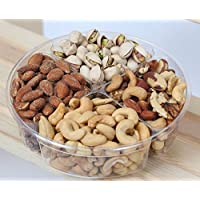 Deluxe Nut Gift Tray - Gift Basket - Hula Delights