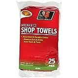 Detailer's Choice 3-542 Mechanics Shop Towels - 25-Pack