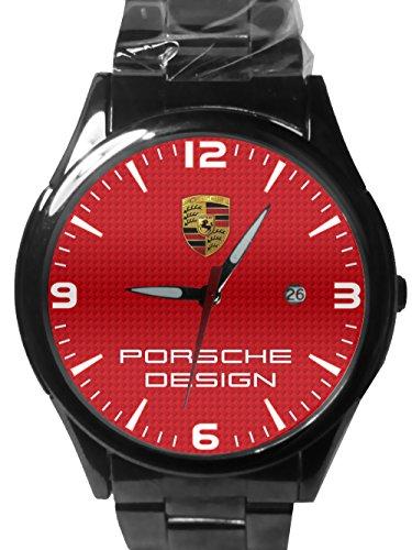 Custom Sport Metal Watch Porsche Logo Fit Your T Shirt