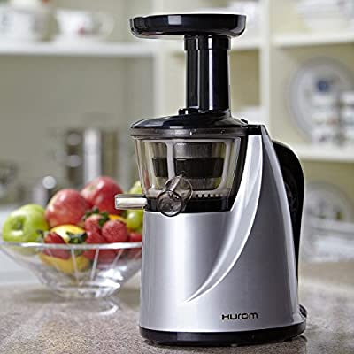 Hurom HU-100 Slow Juicer with Cookbook from Hurom