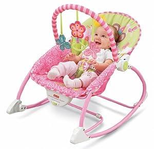 Baby Gear W5537 - Hamaca Crece Conmigo Rosa (Mattel)