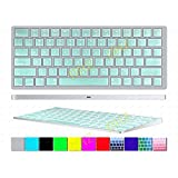 DHZ New Arrival Pearl Green Apple Magic Keyboard Cover Ultra Thin Soft Silicone Skin Protective Film For Magic...