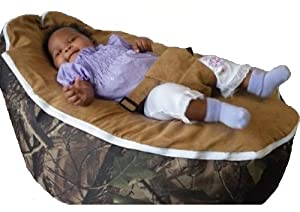 """Baby Beanbags By Babybooper Extra Soft Suede Top Toddler Kids Portable Bean Bag Seat """"Seasons Outdoor"""""""