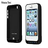 Noza Tec iPhone5 5S 5C専用 バッテリー内臓ケース 4200Mah 大容量 選べる6色 (黒)