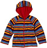 Zutano Boys 2-7 Multistripe Reversible Zip Hoodie