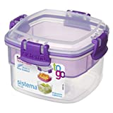 Sistema 21320 Snacks Container, 400ml