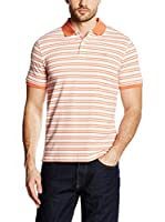 Pedro del Hierro Polo Light Weight (Naranja / Blanco)