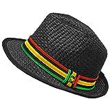 Peter Grimm - Mens Peter Grimm - Jah Love Black Fedora Black
